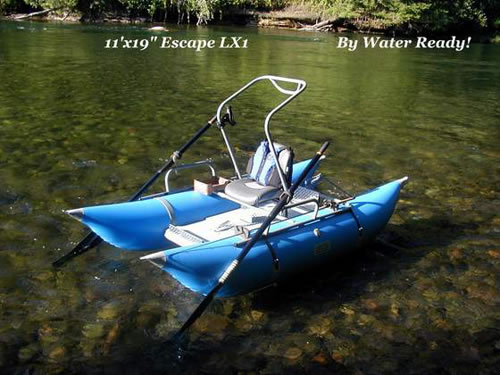 Jack 39 s plastic welding inc for Fly fishing pontoon