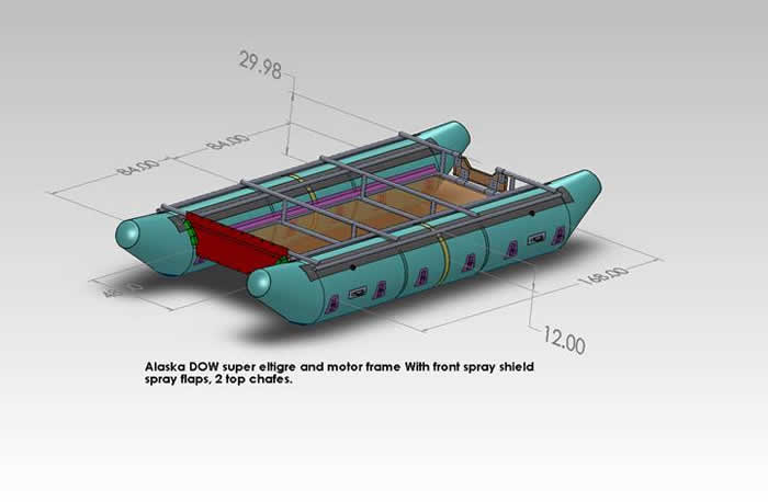 Catarafts and inflatable pontoon boat systems for the beginner
