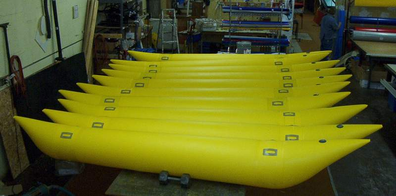 customized cataraft tubes by Jack's Plastic Welding Inc