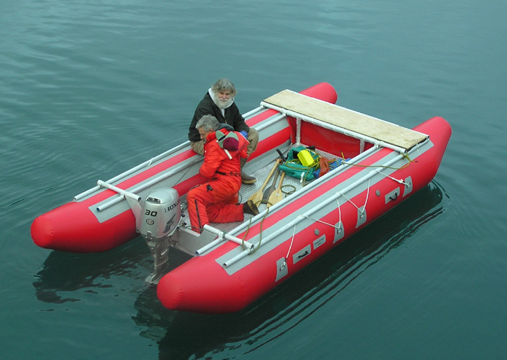 New self bailing whitewater and fly fishing rafts from for Best fly fishing raft