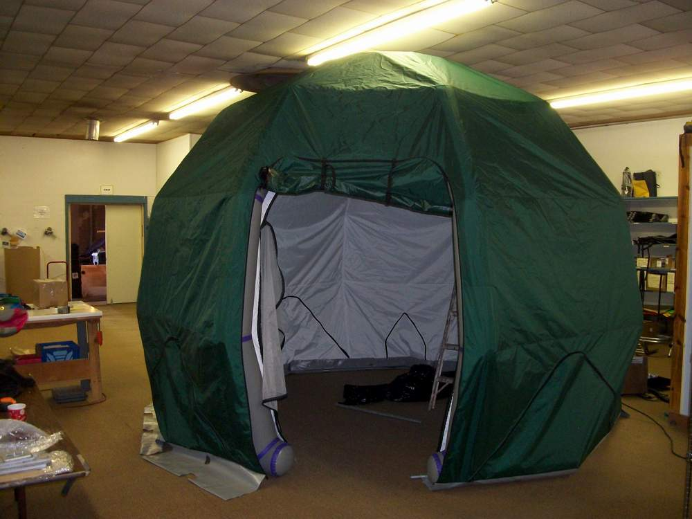 Mexico Rescue Shelter & Inflatable tent structures from Jacku0027s Plastic Welding